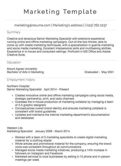 Marketing Manager Resume Example | Resume.com