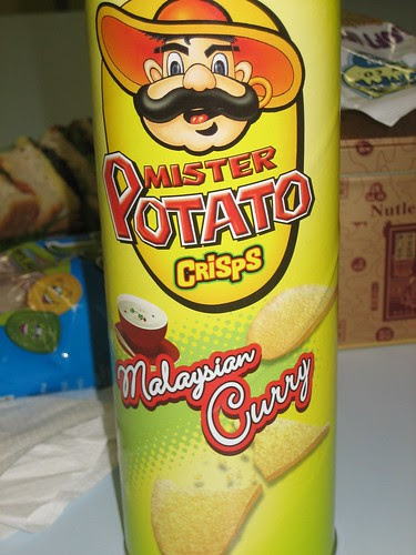 mr potato crisps