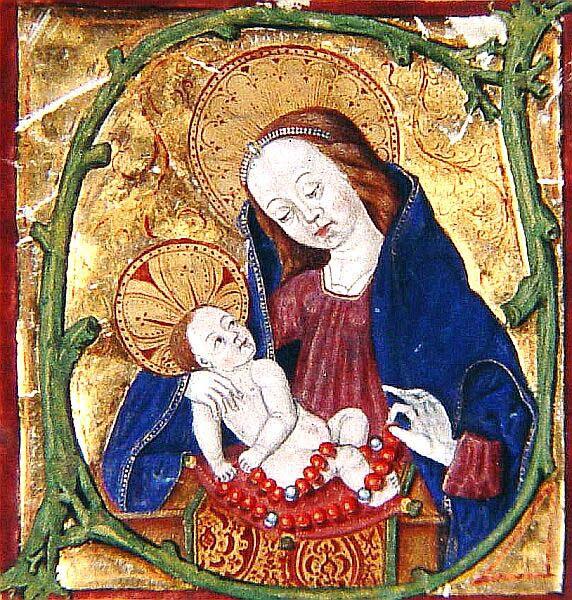 Vierge au Chapelet 1