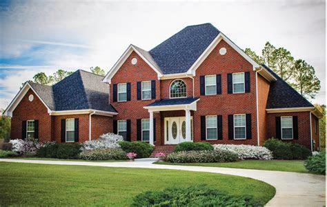 brick house plans americas home place