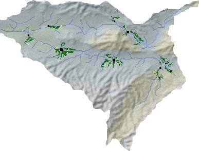 Rhindose cultivations map