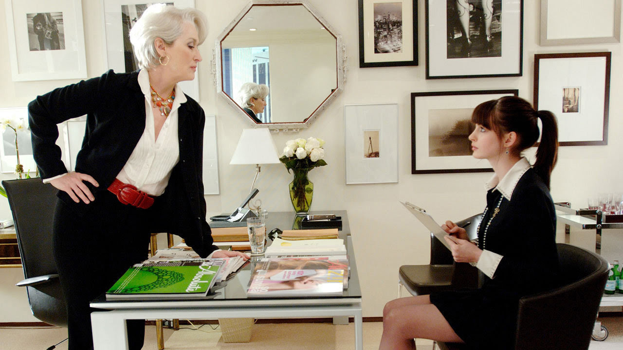 Image result for escritório parecido com o da personagem Miranda Priestly.