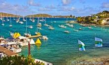 Cowpet Bay in St Thomas US Virgin Islands