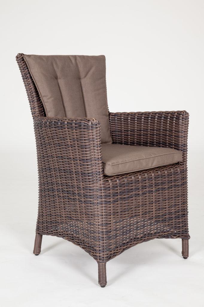 Kensington Deluxe Round Weave Rattan Chair - Regatta ...