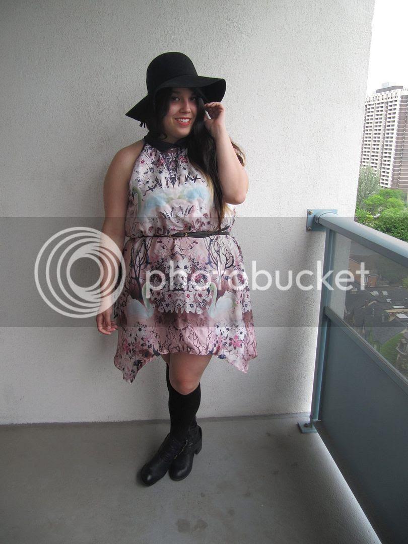 1 dress 3 ways plus size fashion plus size blogger toronto canada dorothy perkins full figure curvy fatshion