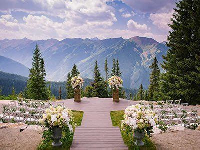 Little Nell Aspen Weddings High Rockies Wedding Venues