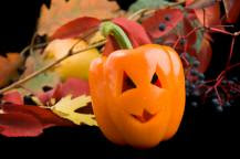 halloween orange pepper