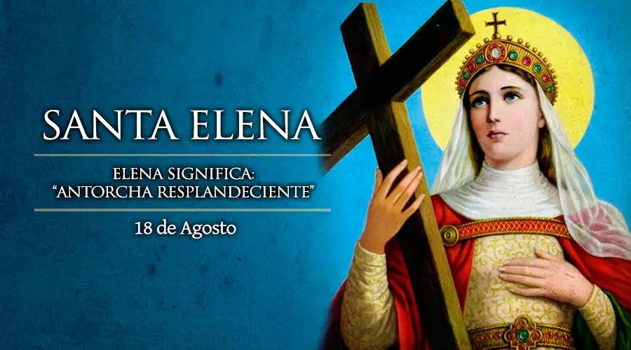 Hoy celebramos a Santa Elena que rescató la Santa Cruz de Cristo