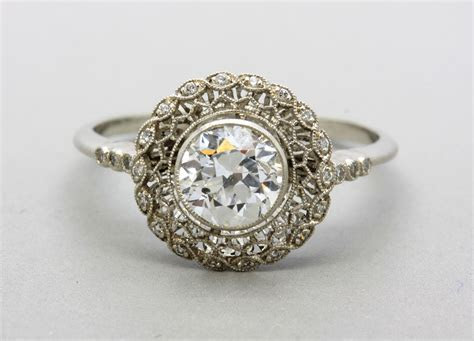 Vintage Engagement Rings Etsy   Jewelry Exhibition