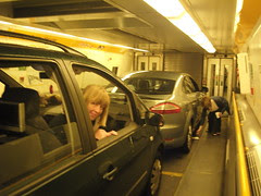 Driving onboard the Eurotunnel train