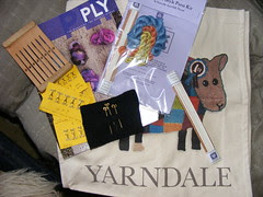 Goodies from Yarndale