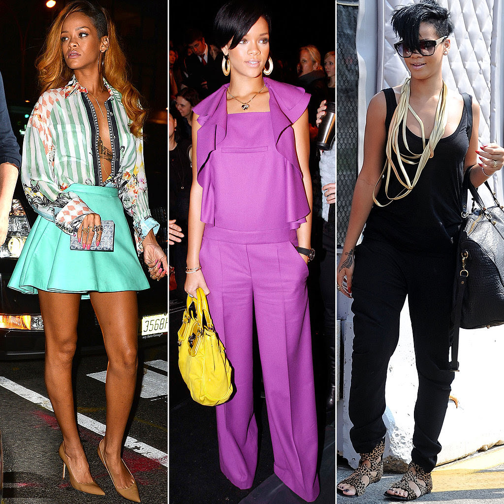 A Tribute to Rihanna's Killer Street Style on Her 28th Birthday