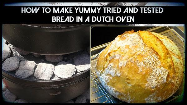 MIY Dutch Oven Bread - The Prepared Page