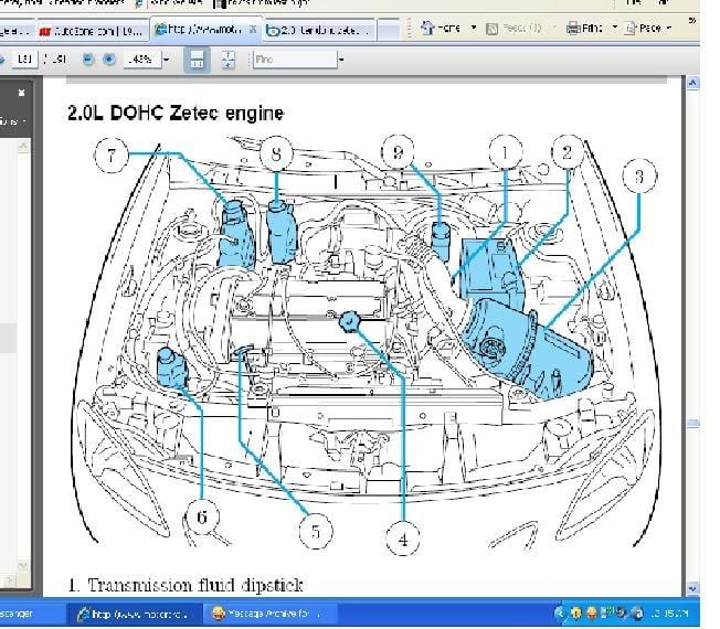2001 Ford Explorer Vacuum Line Diagram