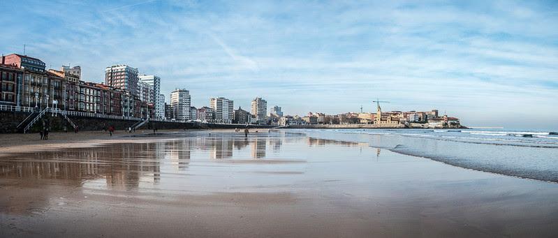Gijón, la playa