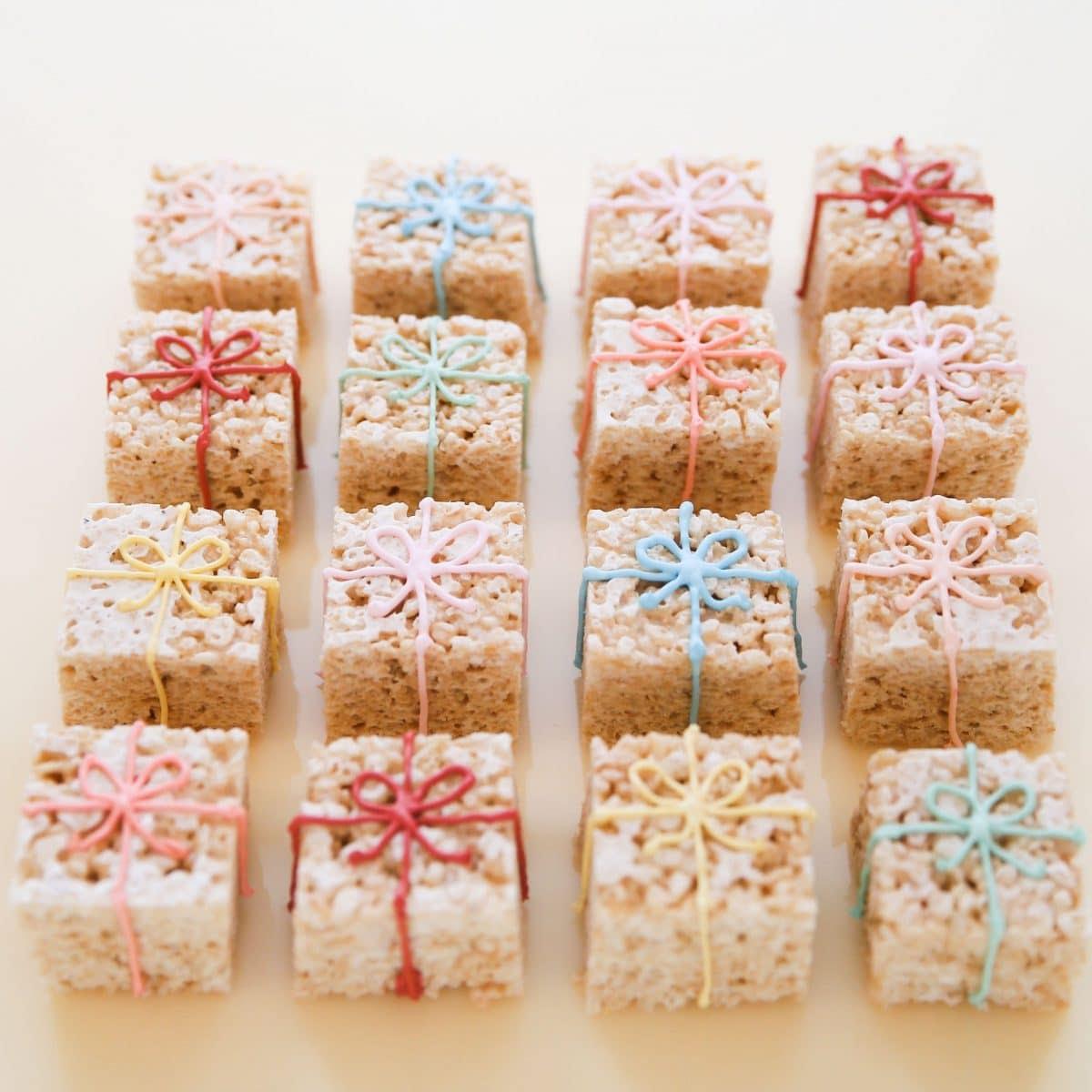 Rice Krispie Treat Boxes | Darcy Miller Designs