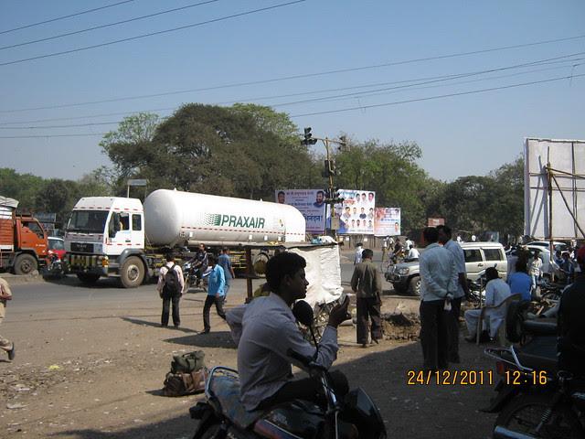 Chakan Chowk - Visit to Kushal Swarnali Township, 1 BHK & 2 BHK Budget Flats at Chakan, Pune 410 501