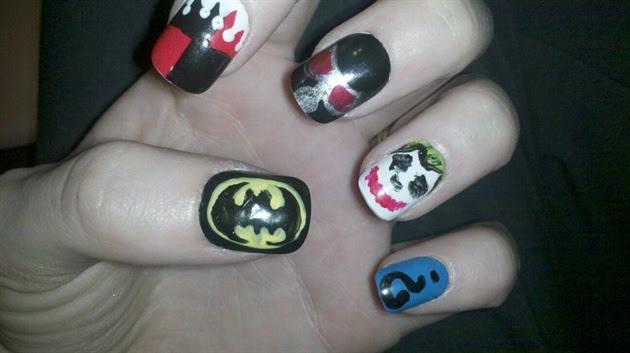 Batman Nails - Nail Art Gallery