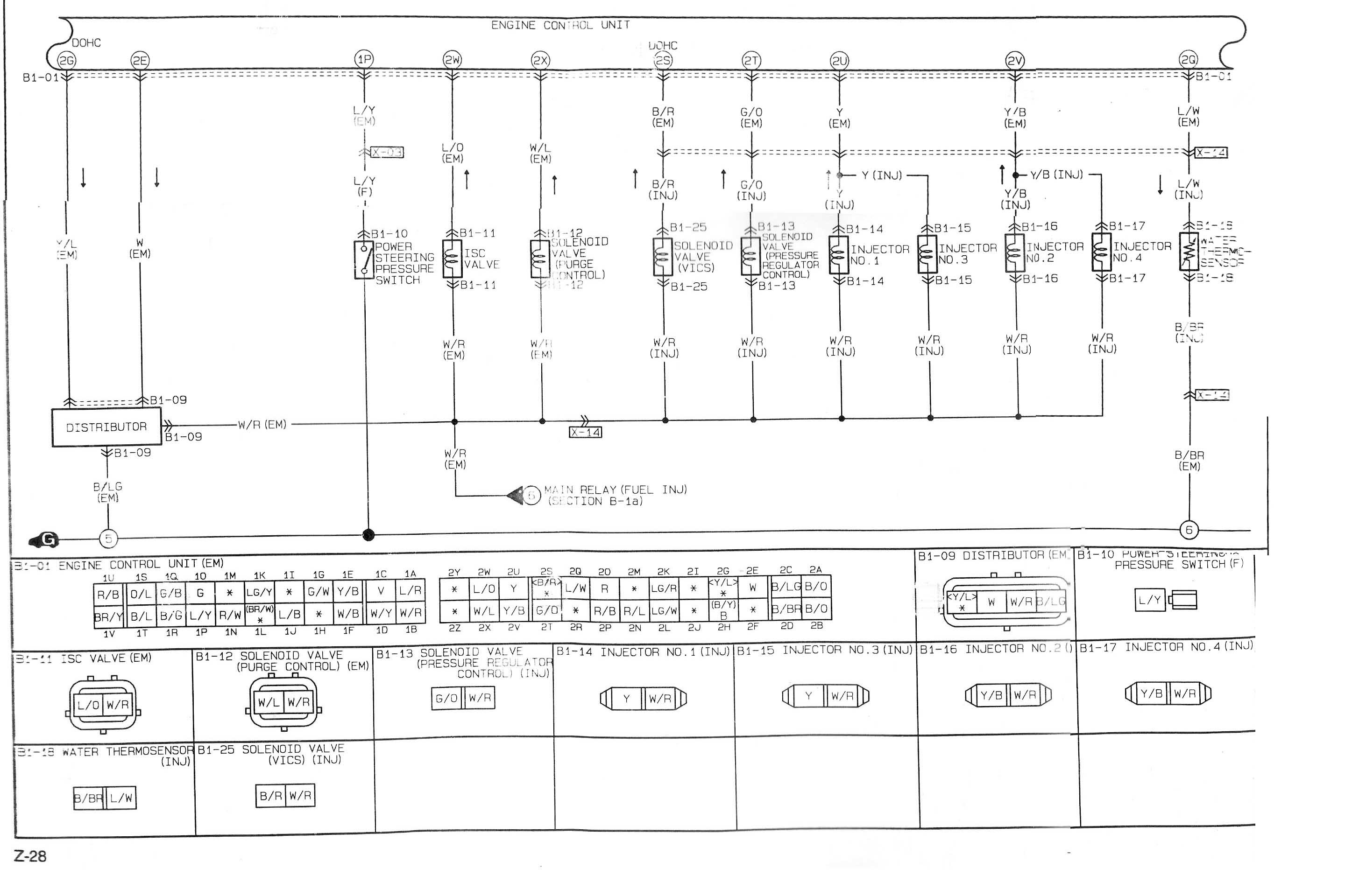 Mazda Protege Diagram Wiring Schematic | schematic and ...