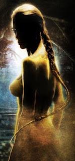 Angelina Jolie, as mother of Grendel