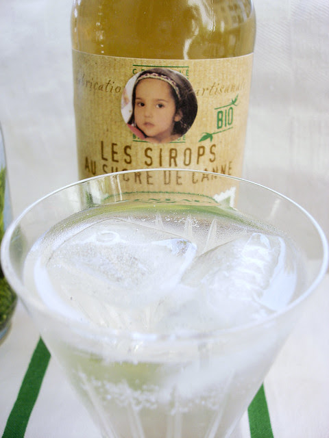 "Test-Degustation Sirop de Menthe aus Frankreich ""Maison Meneau"""