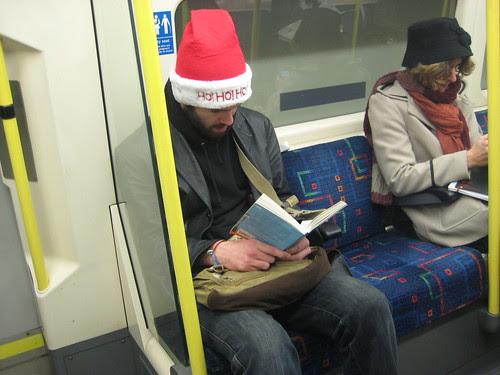 Ho! Ho! Ho! on the Tube by Annie Mole