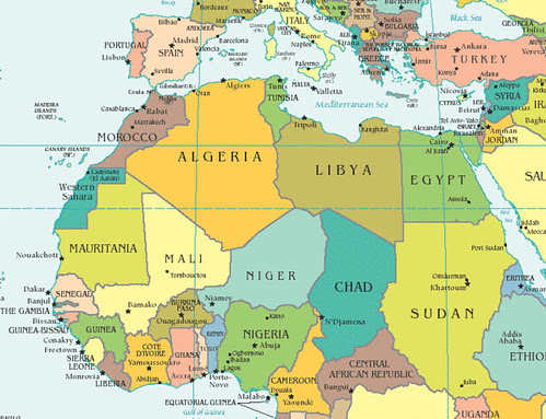North-Africa-map