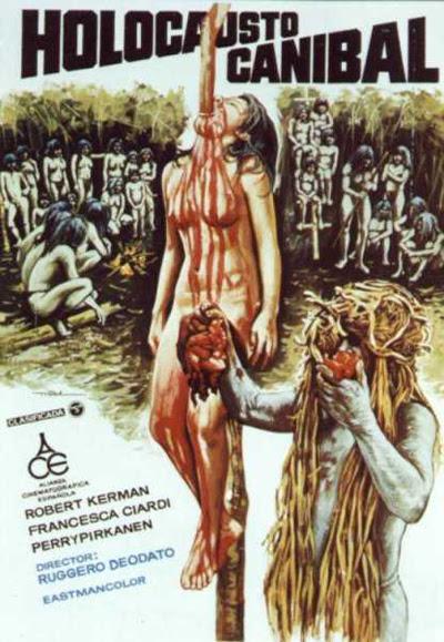 Resultado de imagem para holocausto canibal capa