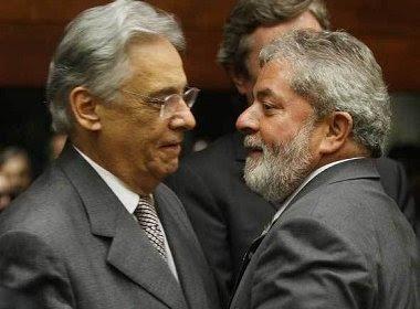FHC vai depor como testemunha de defesa em processo contra Lula nesta quinta