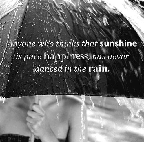 Dancing In The Rain Quote Picture