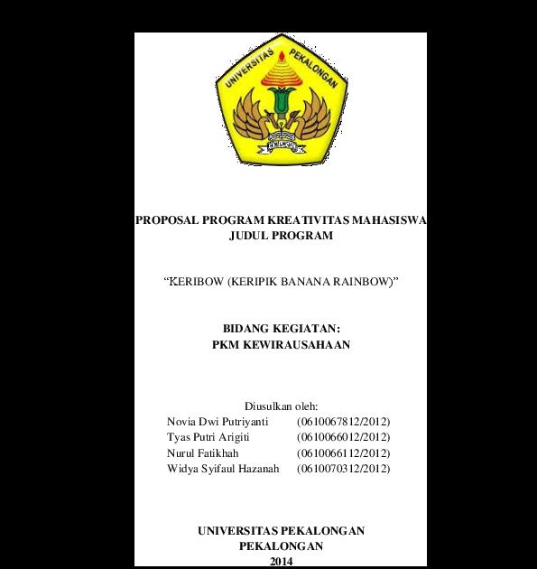 Contoh Proposal Kewirausahaan Kripik Pisang : Contoh ...