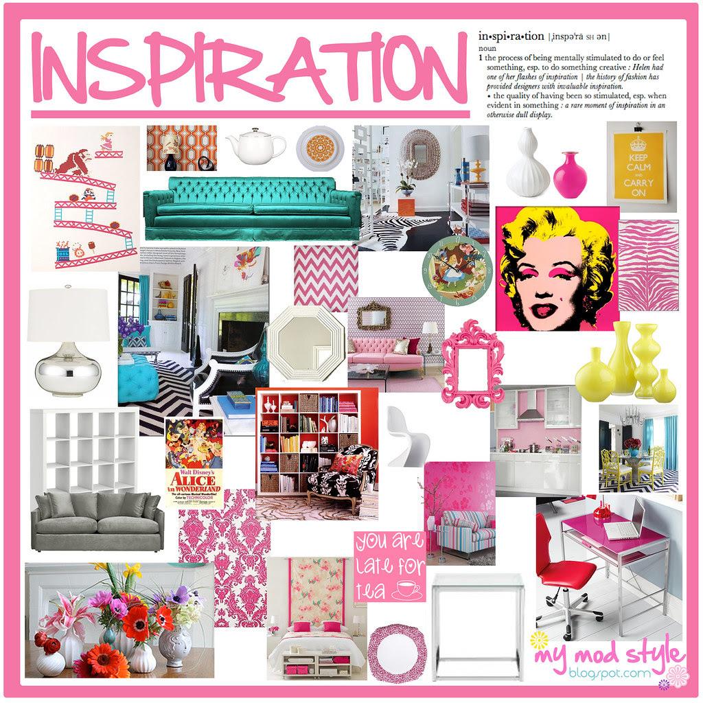 8x8 inspiration board