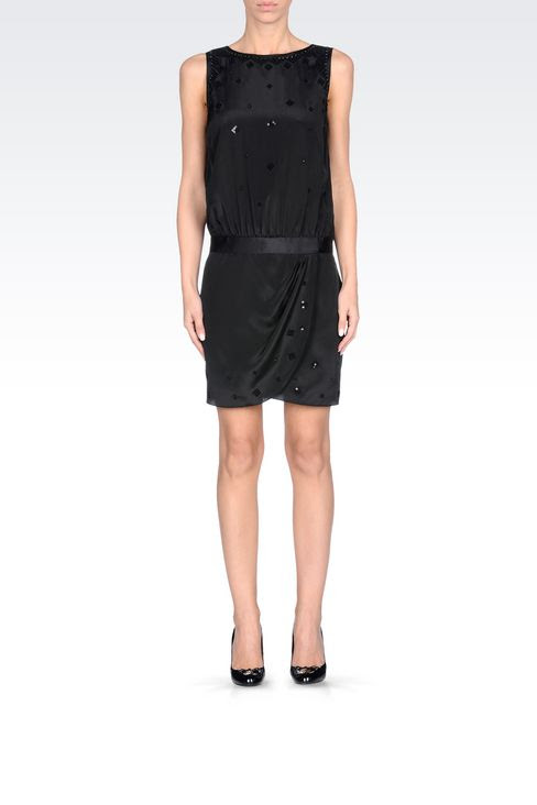 Armani short evening dresses
