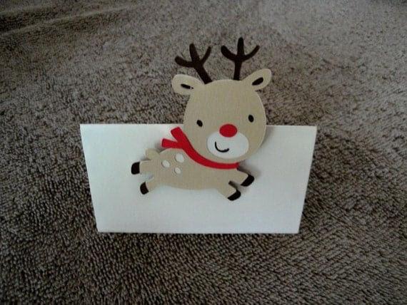 Reindeer Placecards