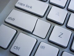 Broken Shift Key