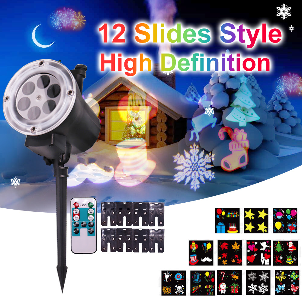 Wave Light Projector Halloween Projector Lights 2 In 1 Ocean