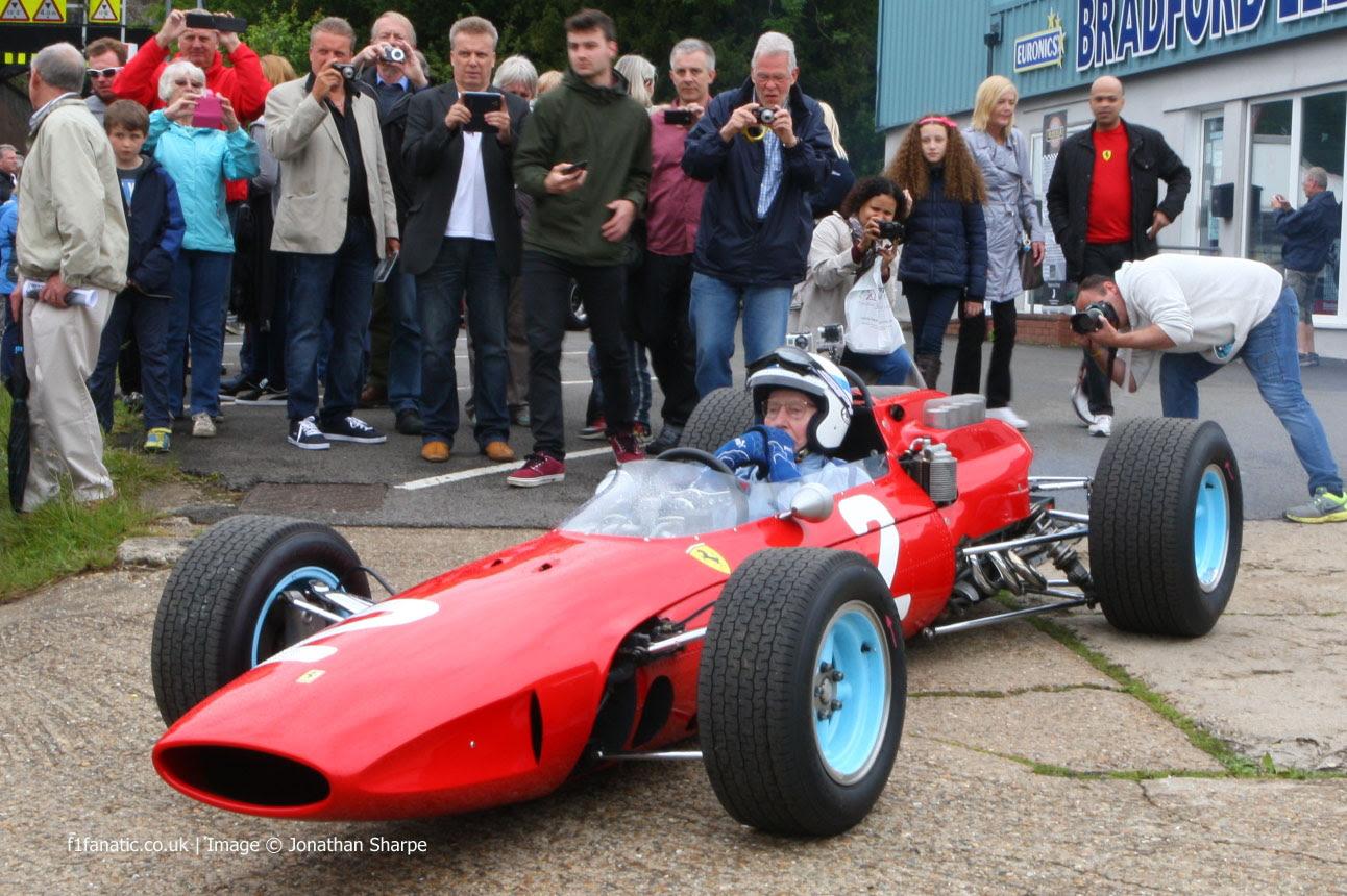 John Surtees, Ferrari 158, Edenbridge, 2014 · F1 Fanatic