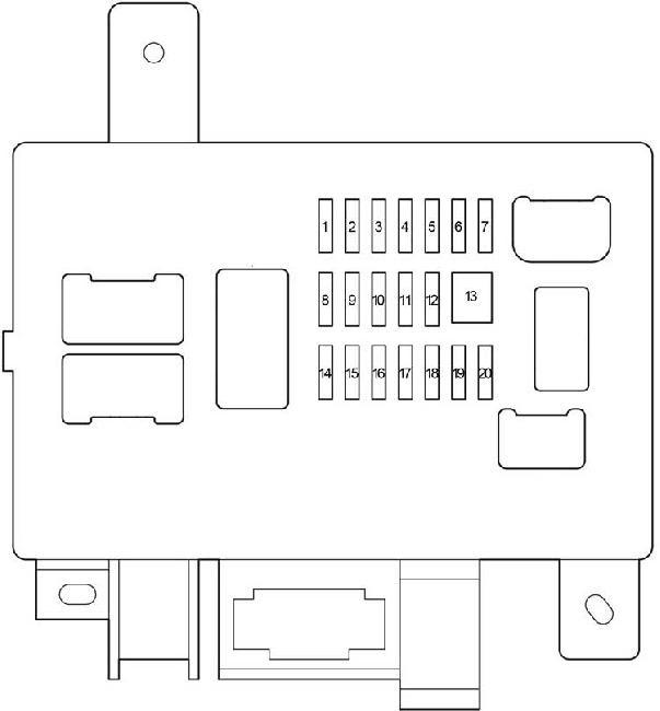 27 2017 Tacoma Fuse Box Diagram