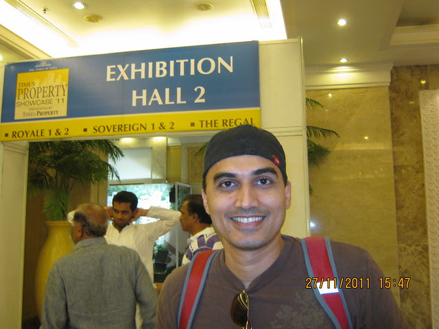 Amit Parnerkar, Minneapolis, Minnesota, USA at The Times Property Showcase '11 - at Le Meridiean, on 27th November 2011