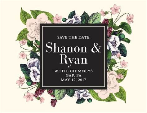 Best 25  Botanical save the dates ideas on Pinterest