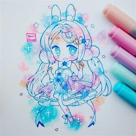 chibi art dibujos hermosos pinterest chibi anime