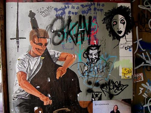 Graffiti wall paintings