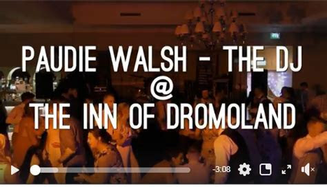 Wedding DJs Clare   Paudie Walsh @ The Inn at Dromoland
