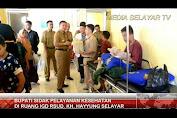 Bupati Sidak Pelayanan IGD dan Pantau Kondisi Bayi Ali Akbar Di RSUD KH. Hayyung
