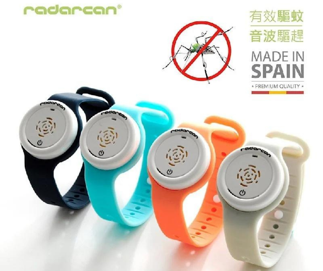 【Radarcan 驅蚊手環 PLUS R-100】西班牙製造、無化學成份、健康抗蚊叮