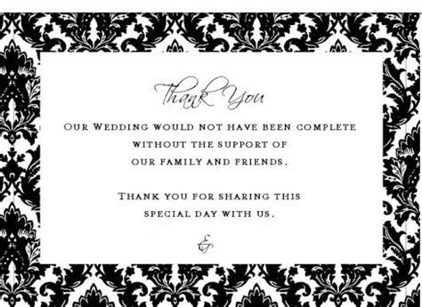 Bridal Shower Thank You Card Wording For Download
