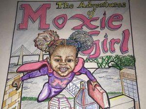 Menina de 7 anos cria Quadrinhos sobre Cabelo Afro Mágico.