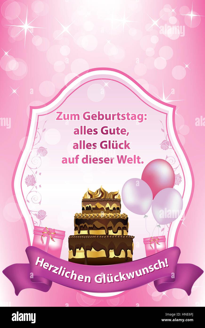 Glück Wünschen Zum Geburtstag