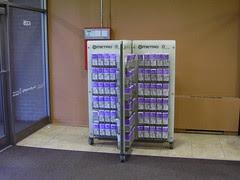 Transit Information Rack, University Book Store, University of Washington, Seattle