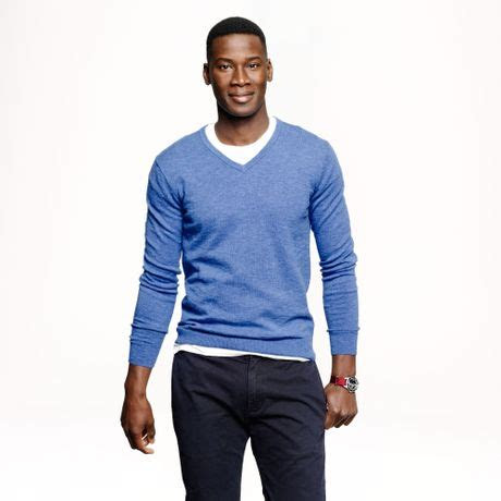 How Should A Man Wear A V-neck Sweater